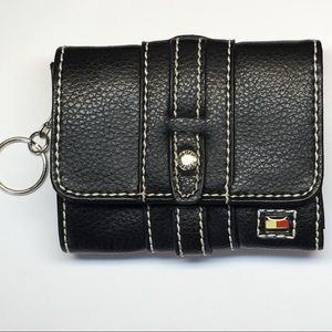 Tommy Hilfiger Wallet ID Key Holder Change Purse